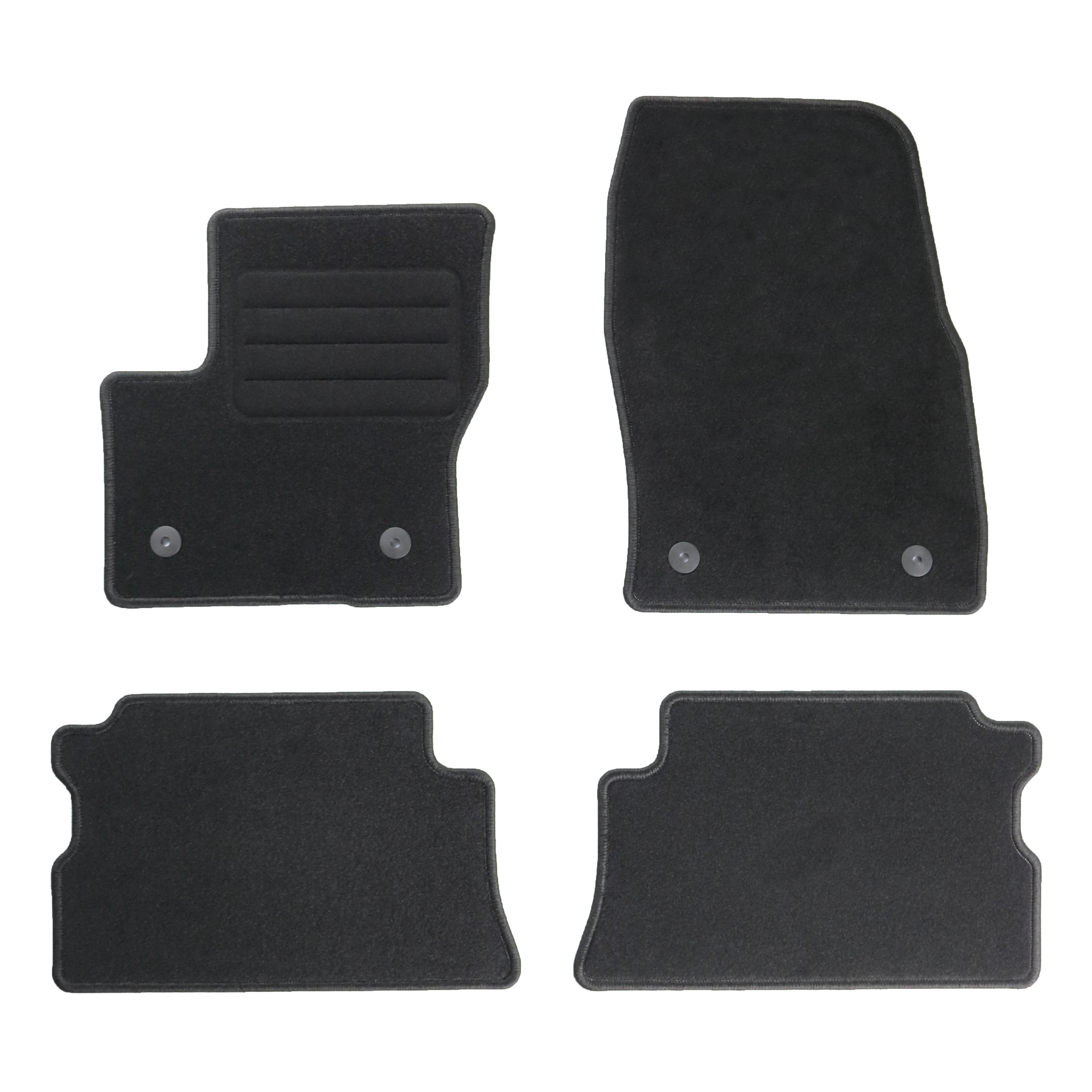 ford kuga ii fu matten autoteppiche bj 2012 ebay. Black Bedroom Furniture Sets. Home Design Ideas