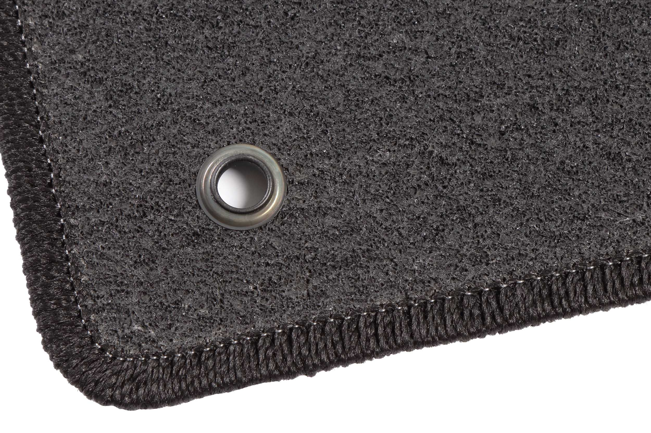 - Grau Nadelfilz 4tlg bis 2012 toy clips Auto Fußmatten Hyundai i30 CW