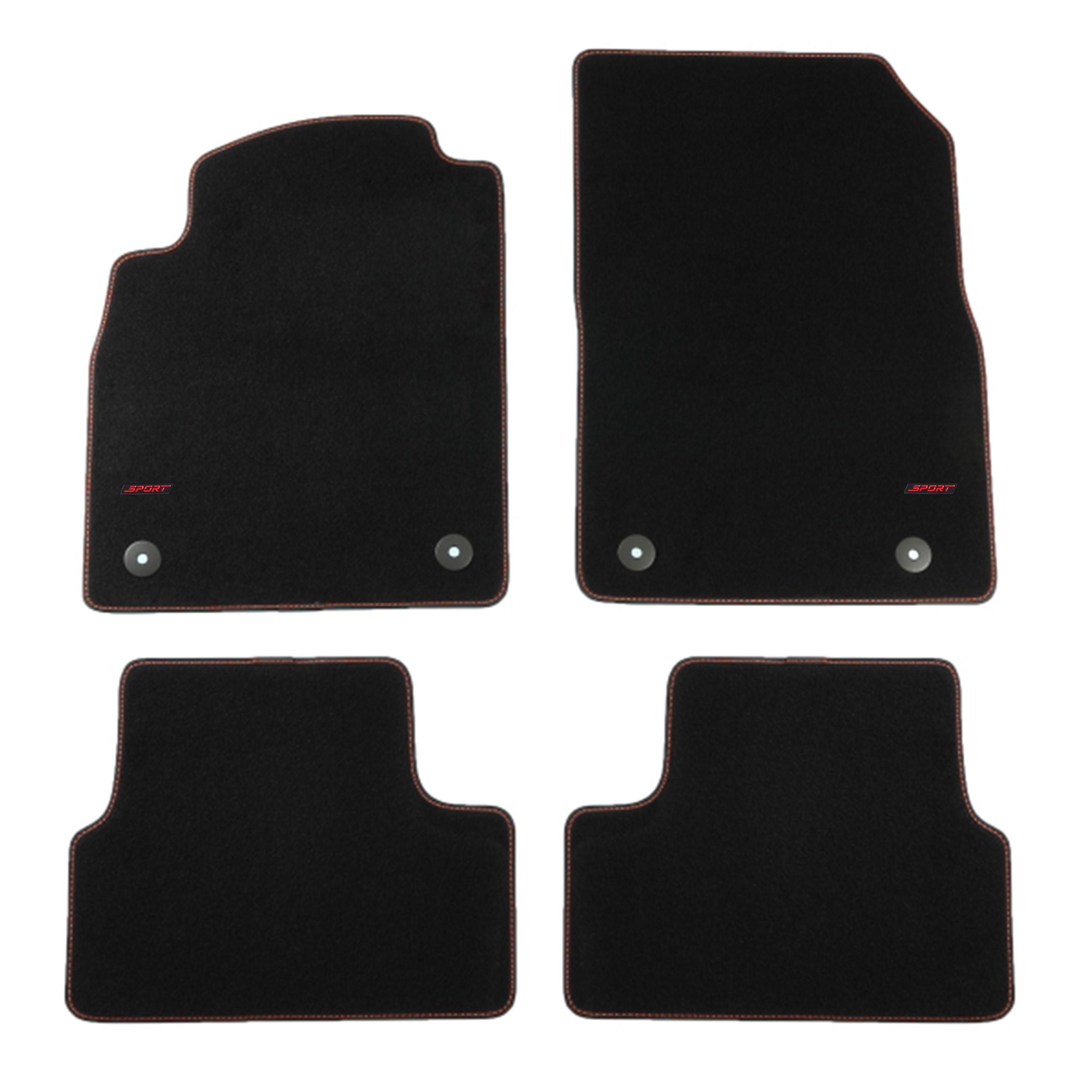opel astra iv j bj 2009 sport fu matten autoteppiche ebay. Black Bedroom Furniture Sets. Home Design Ideas